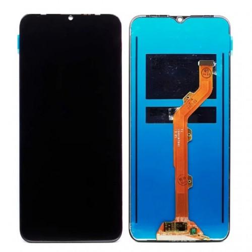 Дисплей для Tecno Spark 4 (KC2/KC8)/Camon 12 (CC7), черный, с тачскрином