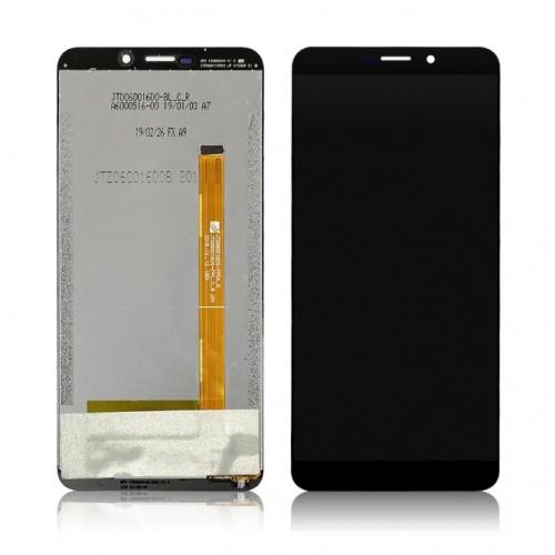 Дисплей для Ulefone Power 3, черный, с тачскрином, ORIG