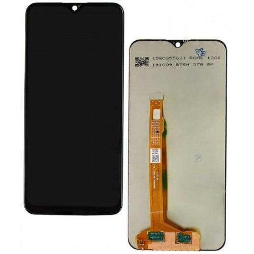 Дисплей для Vivo Y11/Y15/Y17, черный, с тачскрином, Service ORIG