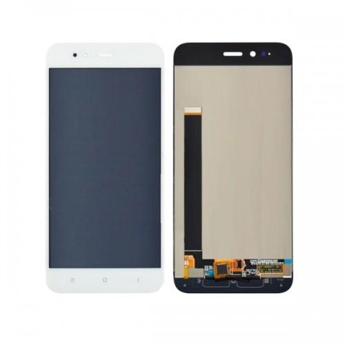 Дисплей для Xiaomi Mi A1/Mi5x, белый, с тачскрином