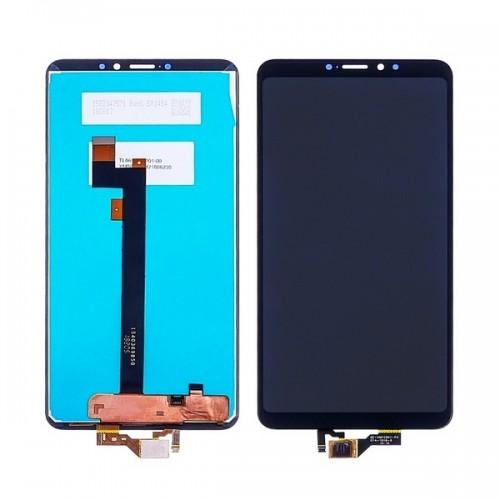 Дисплей для Xiaomi Mi Max 3, черный, с тачскрином
