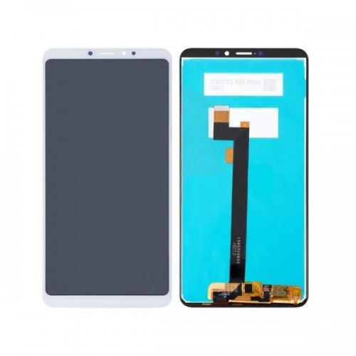 Дисплей для Xiaomi Mi Max 3, белый, с тачскрином