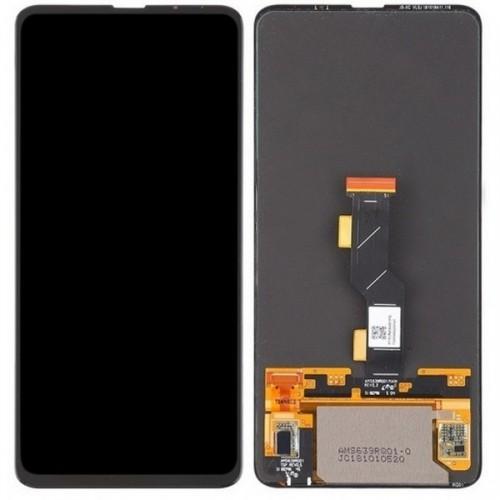 Дисплей для Xiaomi Mi Mix 3, черный, с тачскрином, ORIG, OLED