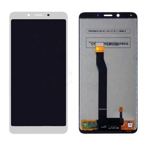 Дисплей для Xiaomi RedMi 6/RedMi 6a, белый, с тачскрином