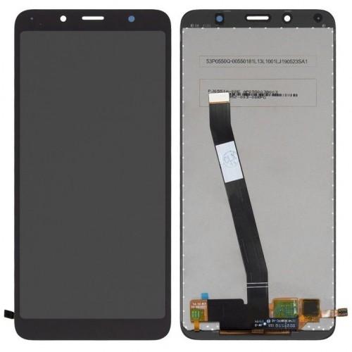 Дисплей для Xiaomi RedMi 7a, черный, с тачскрином, Service ORIG