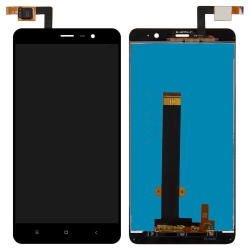 Дисплей для Xiaomi RedMi Note 3, черный, с тачскрином (147*73 мм)