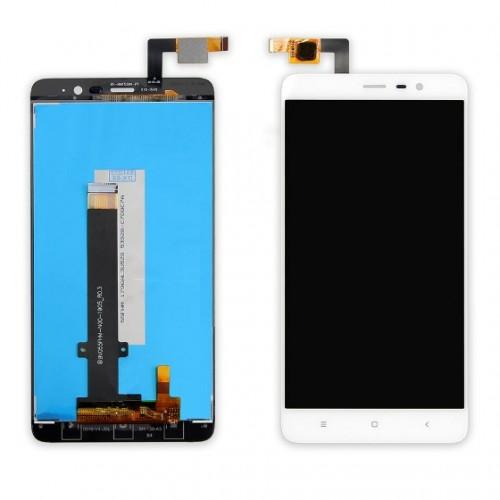 Дисплей для Xiaomi RedMi Note 3, белый, с тачскрином (147*73 мм)