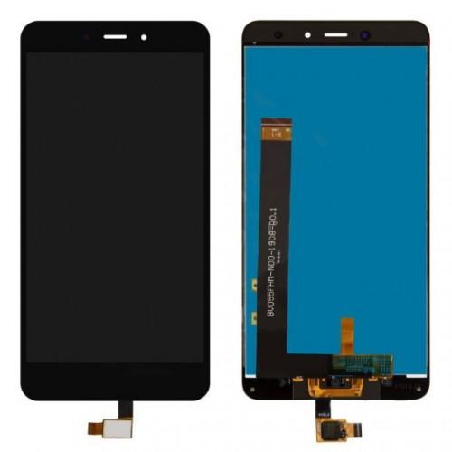 Дисплей для Xiaomi RedMi Note 4, черный, с тачскрином
