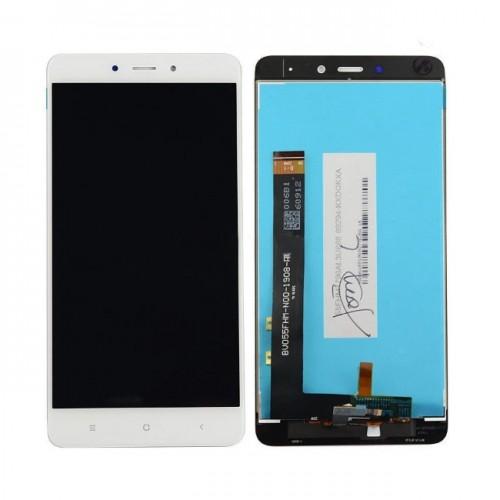 Дисплей для Xiaomi RedMi Note 4, белый, с тачскрином