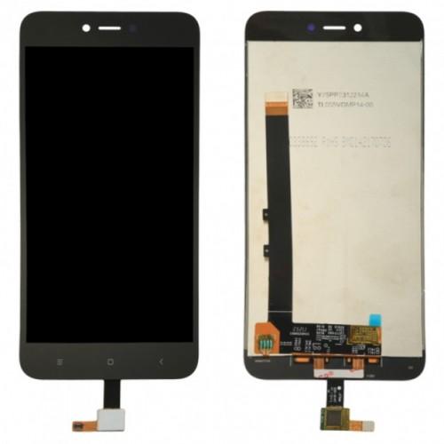 Дисплей для Xiaomi RedMi Note 5A Prime/Redmi Y1/MDE6S, черный, с тачскрином