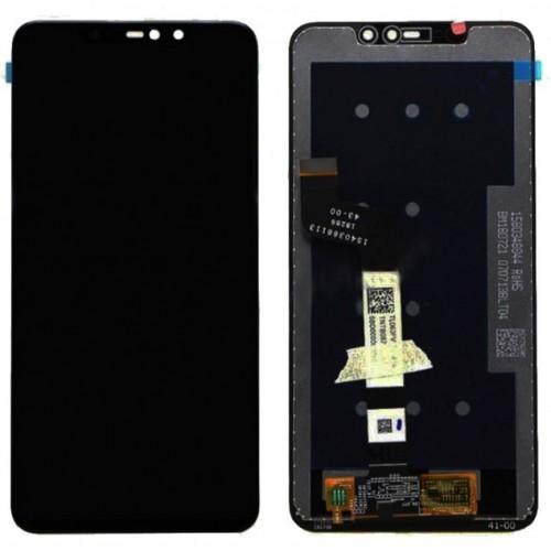 Дисплей для Xiaomi RedMi Note 6 Pro, черный, с тачскрином