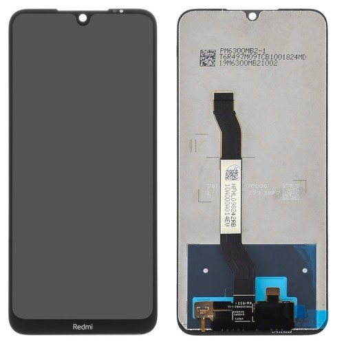 Дисплей для Xiaomi RedMi Note 8T, черный, с тачскрином