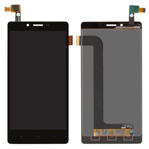 Дисплей для Xiaomi RedMi Note, черный, с тачскрином