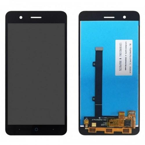Дисплей для Zte A510, черный, с тачскрином, ORIG