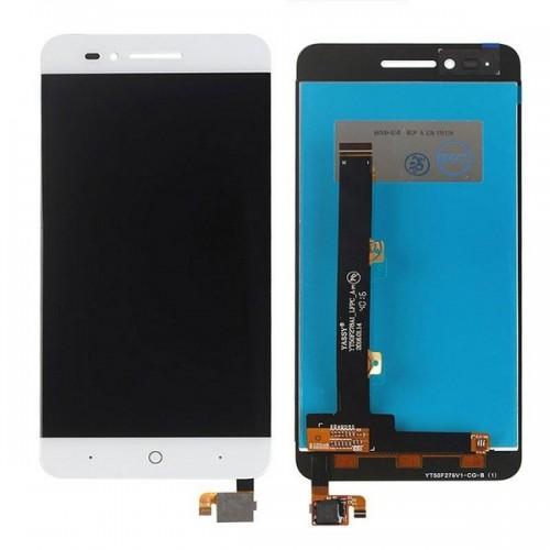 Дисплей для Zte A610/A612, белый, с тачскрином, ORIG