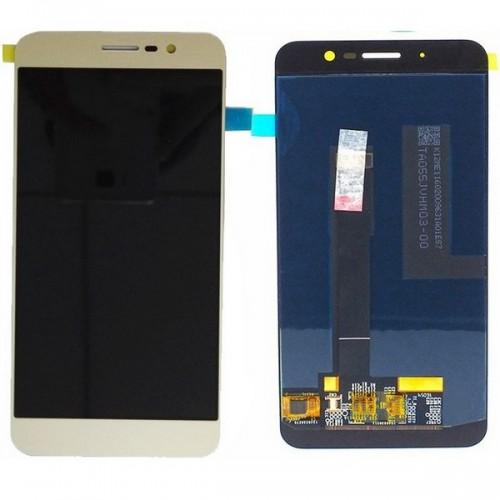 Дисплей для Zte A910, золотой, с тачскрином, ORIG