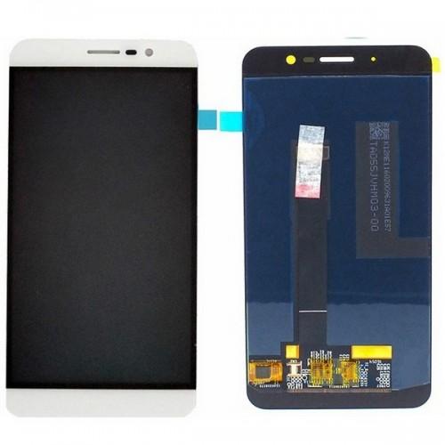 Дисплей для Zte A910, белый, с тачскрином, ORIG