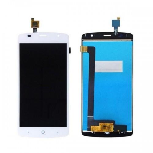 Дисплей для Zte L5 Plus, белый, с тачскрином, ORIG
