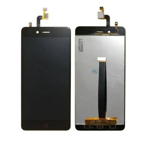 Дисплей для Zte Nubia Z11 Mini, черный, с тачскрином, ORIG