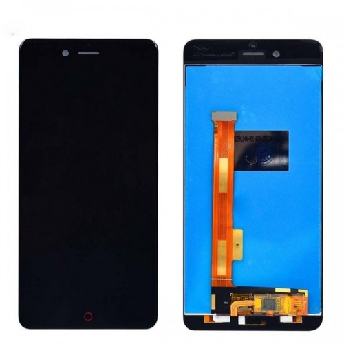 Дисплей для Zte Nubia Z17 Mini, черный, с тачскрином, ORIG
