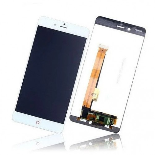 Дисплей для Zte Nubia Z17 Mini, белый, с тачскрином, ORIG