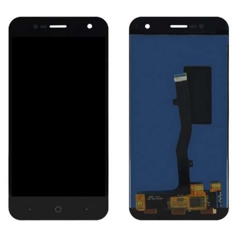 Дисплей для Zte V8 Mini, черный, с тачскрином, ORIG