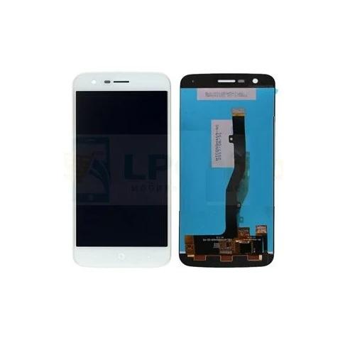 Дисплей для Zte V8 Mini, белый, с тачскрином, ORIG