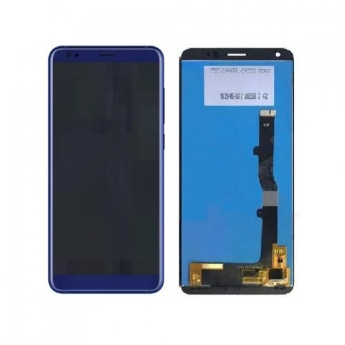 Дисплей для Zte V9, синий, с тачскрином, ORIG