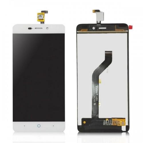 Дисплей для Zte X3, белый, с тачскрином, ORIG