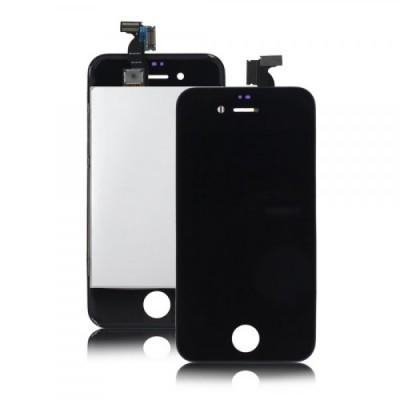 Дисплей для iPhone 4, черный, с тачскрином