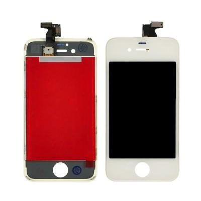 Дисплей для iPhone 4, белый, с тачскрином