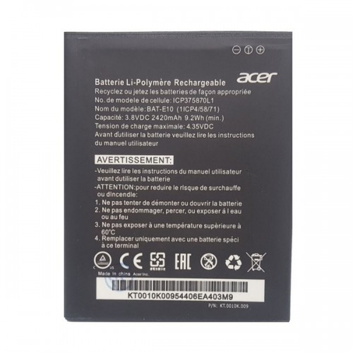 Аккумулятор для Acer Liquid Z530 LTE Z530S / BAT-E10
