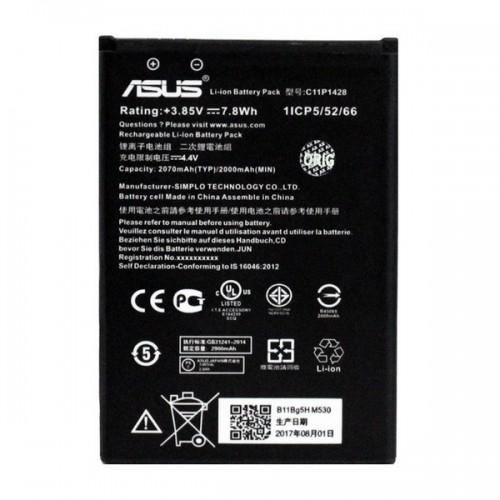 Аккумулятор для Asus ZenFone 2 Laser ZE500KL / ZB551KL / ZenFone GO ZB452KG / B11P1428