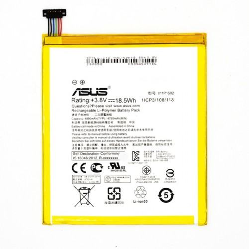 "Аккумулятор для Asus ZenPad Z300C / Z300CG / Z300CL 10"" / C11P1502"