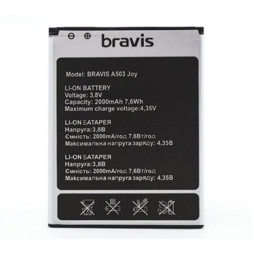 Аккумулятор для Bravis A503 Joy Dual Sim