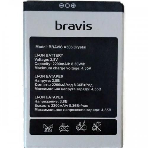 Аккумулятор для Bravis A506 Crystal