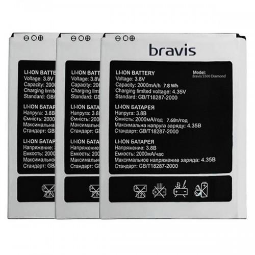 Аккумулятор для Bravis S500 Diamond