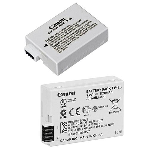 Аккумулятор для Canon EOS600D / 650D / X6 / X5 / 550D / 700D SLR / LP-E8