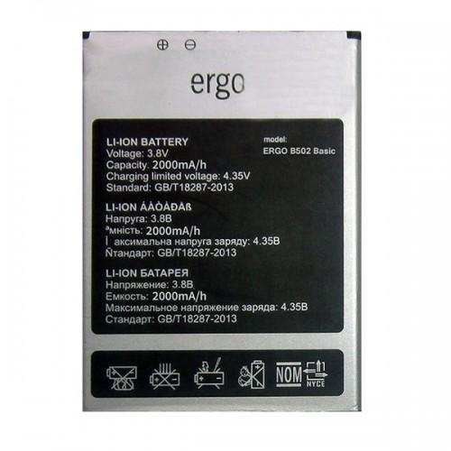Аккумулятор для Ergo B502