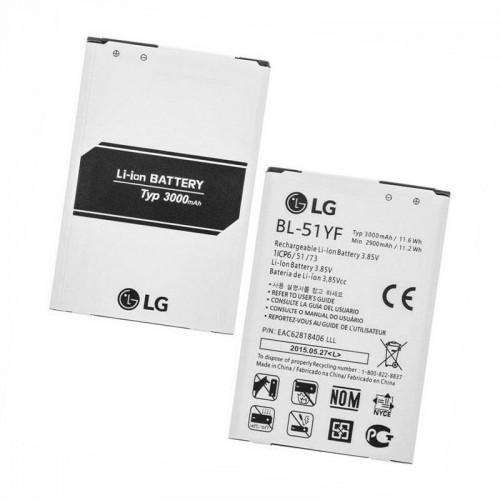 Аккумулятор для LG G4 H540, G4 Stylus, H630, H634, H635, H740, H810, H811, H815, H818N, F500, K600, X19 / BL-51YF