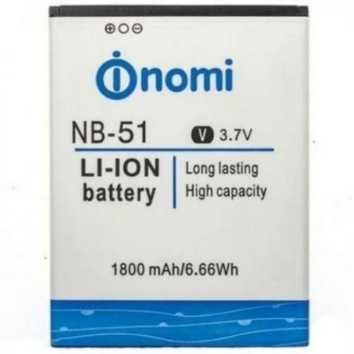 Аккумулятор для  NOMI i505 / NB-55