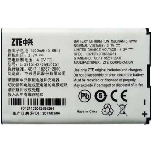 Аккумулятор ZTE Li3715t42P3h654251 WiFi-router